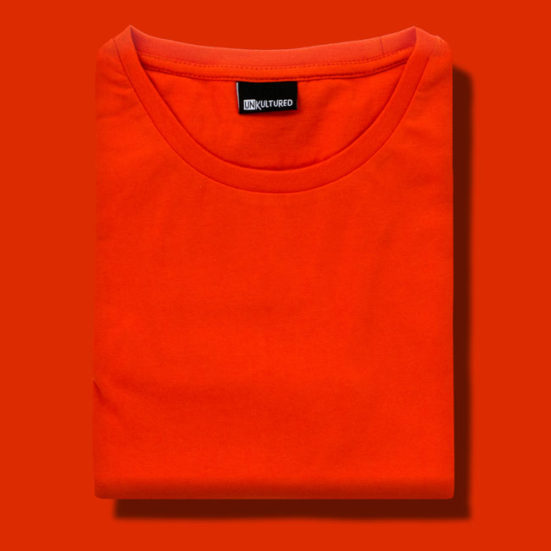 Final-Looks-Female-Flamingo-Orange-551x551 Graphic T-shirts