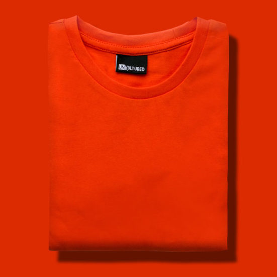 Flamingo-Orange-551x551 Graphic T-shirts